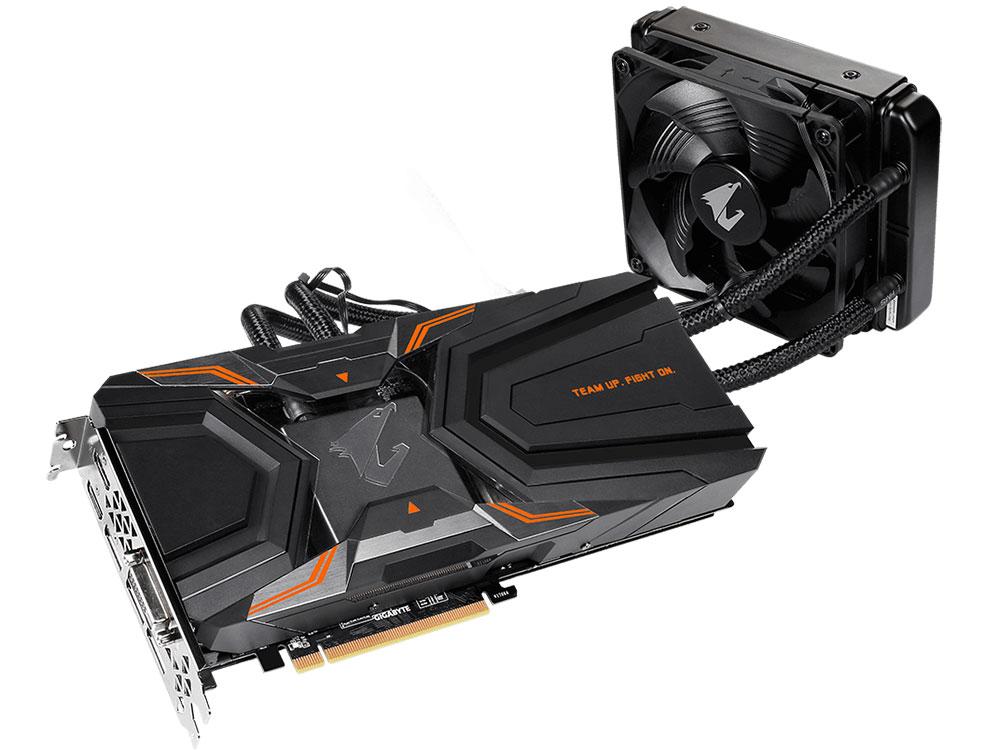Видеокарта 11Gb <PCI-E> GIGABYTE GeForce GTX 1080 Ti GV-N108TAORUS X W-11GD <GTX1080Ti, GDDR5X, 352bit, HDCP, DVI, HDMI, 3*DP, Retail>