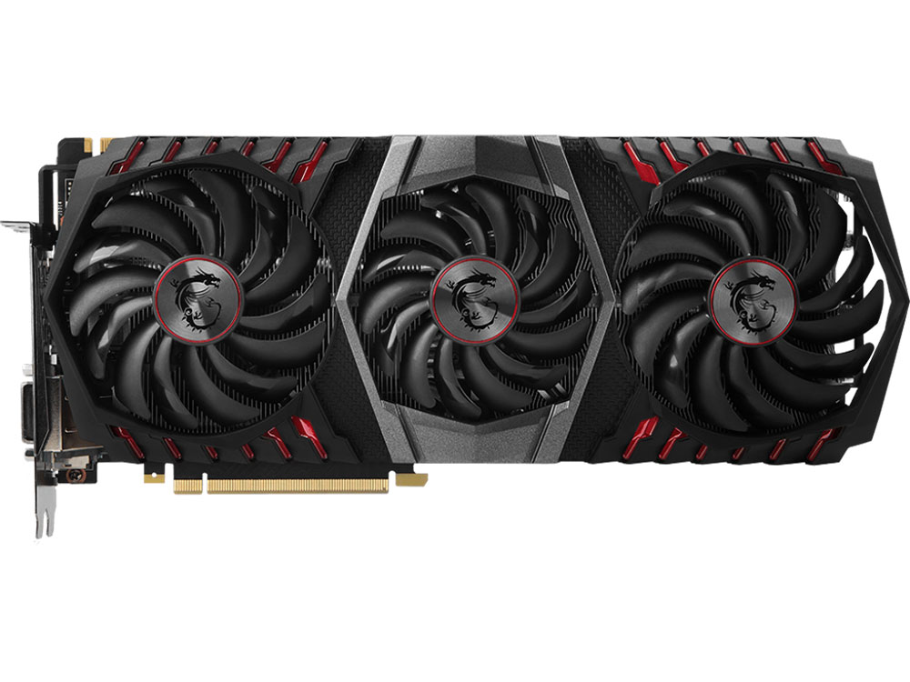 Видеокарта 11Gb  MSI GeForce GTX 1080 Ti GAMING TRIO (GTX1080Ti, GDDR5X, 352bit, HDCP, HDMI*2, 2*DP, 1*DVI, Retail) материнская плата asus h170m e d3 soc 1151 intel h170 4xddr3 matx ac 97 8ch 7 1 gblan raid raid1 raid5 raid10 vga dvi hdmi