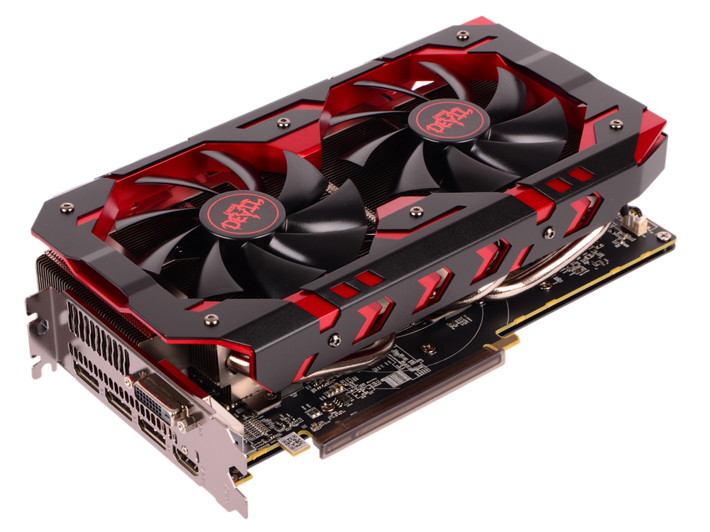 Видеокарта PowerColor Red Devil Red Devil Radeon RX 580 Golden (AXRX 580 8GBD5-3DHG/OC) 8Gb 1425Mhz Radeon RX 590/GDDR5/8000Mhz/256 bit/PCI-E/ DVI 3*DP HDMI видеокарта sapphire rx 580 pulse oc 11265 05 20g 8gb amd rx 580 gddr5 8000mhz 256 bit pci e dvi dp hdmi