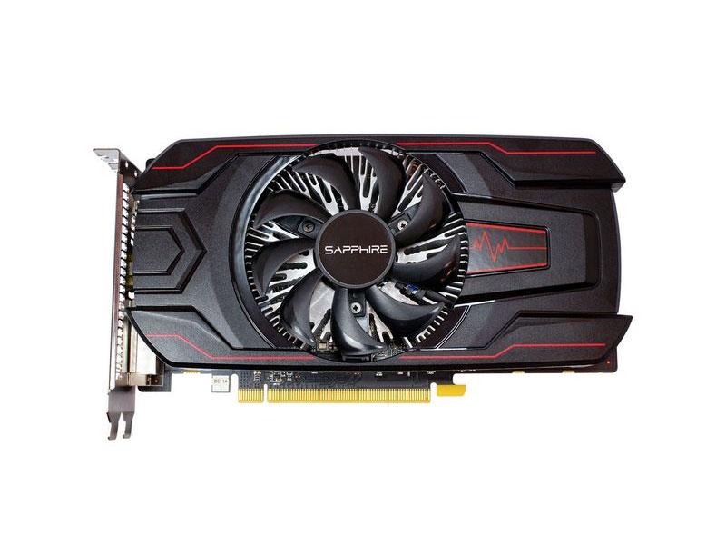 Видеокарта Sapphire Radeon RX 560 Pulse 1226 MHz AMD RX 560/GDDR5 6000MHz/352 bit/PCI-E/ DVI DP HDMI видеокарта 6144mb msi geforce gtx 1060 gaming x 6g pci e 192bit gddr5 dvi hdmi dp hdcp retail