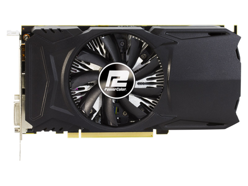 Видеокарта PowerColor Red Dragon Radeon RX 550 (AXRX 550 4GBD5-DH/OC) 4Gb 1190Mhz AMD RX 550/GDDR5/7000Mhz/128 bit/PCI-E/DVI,DP,HDMI видеокарта asus rx 550 4gb rx550 4g