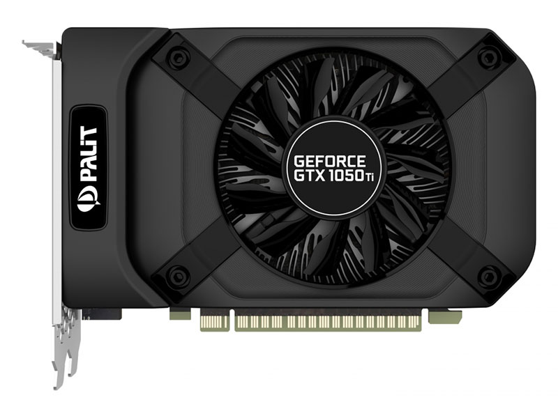 Видеокарта Palit GeForce GTX1050TI StormX 4G NE5105T018G1 4GB 1290Mhz NVIDIA GTX 1050 Ti/GDDR5/7000MHz/128 bit/PCI-E/DVI DP HDMI видеокарта msi geforce gtx 1050 ti 4096mb gaming x 4g dvi d hdmi dp ret