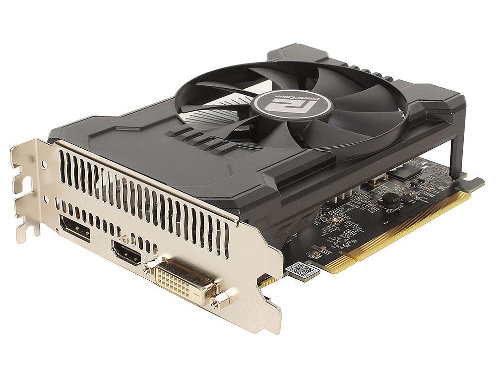 цена на Видеокарта PowerColor AXRX 550 (2GBD5-DHA/OC) 2Gb 1190Mhz AMD Radeon RX 550/GDDR5/6000Mhz/128 bit/PCI-E/DVI DP HDMI