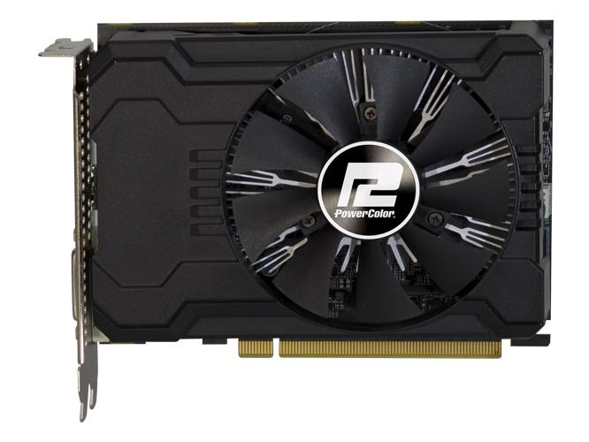 Видеокарта PowerColor AXRX 550 (2GBD5-DHA/OC) 2Gb 1190Mhz AMD Radeon RX 550/GDDR5/6000Mhz/128 bit/PCI-E/DVI DP HDMI видеокарта 6144mb msi geforce gtx 1060 gaming x 6g pci e 192bit gddr5 dvi hdmi dp hdcp retail