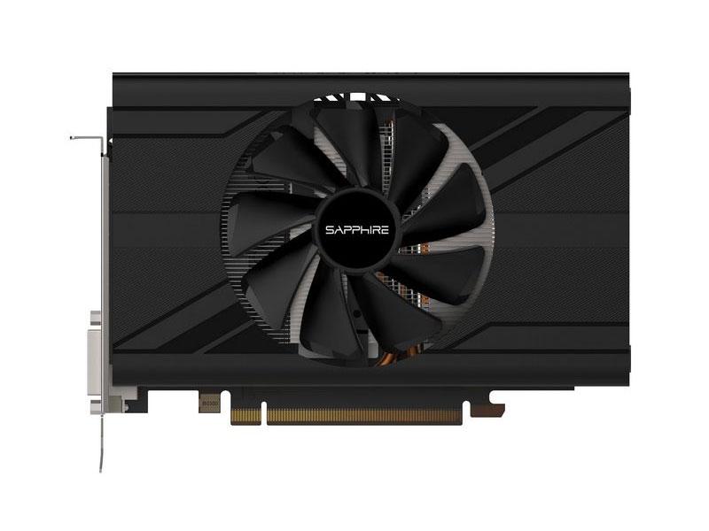 Видеокарта Sapphire PULSE RX 570 4G ITX (11266-34-20G) 4Gb 1244Mhz AMD RX 570/GDDR5/6000MHz/256 bit/PCI-E/ DVI DP HDMI видеокарта asus radeon rx 570 1244mhz pci e 3 0 4096mb 7000mhz 256 bit dp dvi hdmi hdcp ex rx570 4g