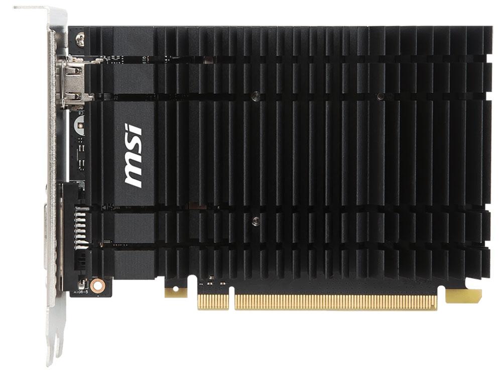 Видеокарта MSI GT 1030 2GH OC 2GB 1265 MHz NVIDIA GT 1030/GDDR5 6008MHz/64bit/PCI-E/HDCP, DVI, HDMI видеокарта 2048mb asus geforce gt730 с cuda pci e 64bit gddr5 dvi hdcp hdmi gt730 sl 2gd5 brk retail