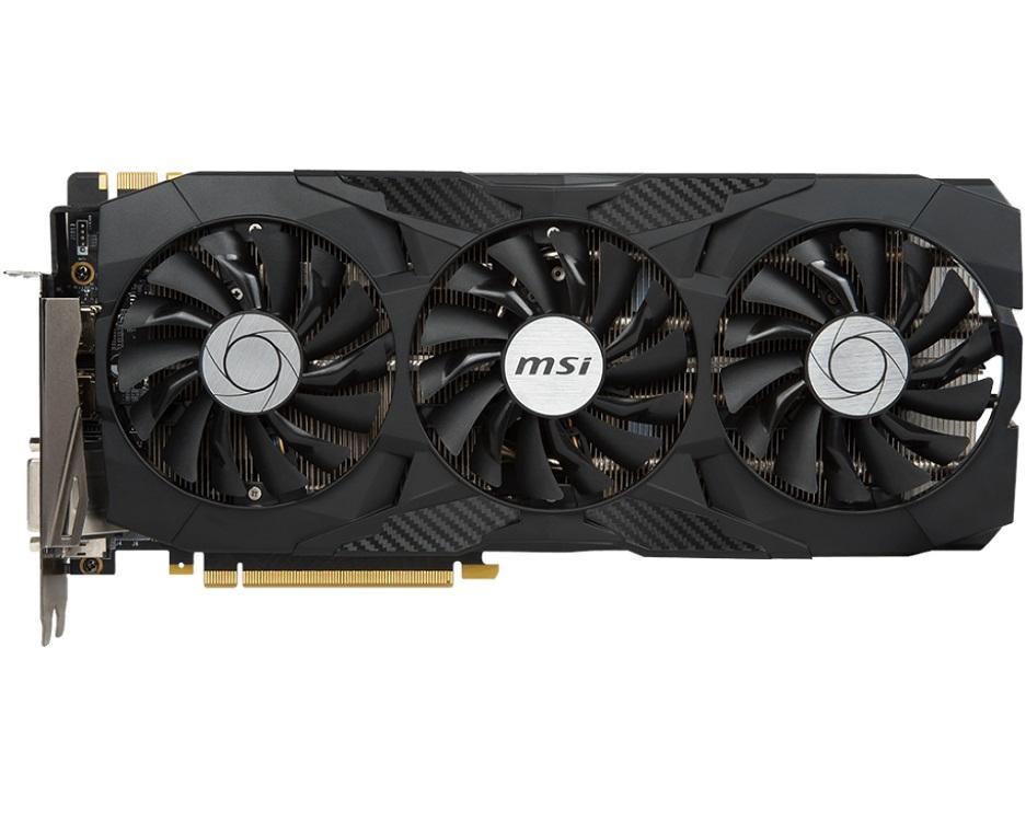 Видеокарта MSI GeForce GTX 1080 Ti DUKE 11G OC 11GB 1531 MHz