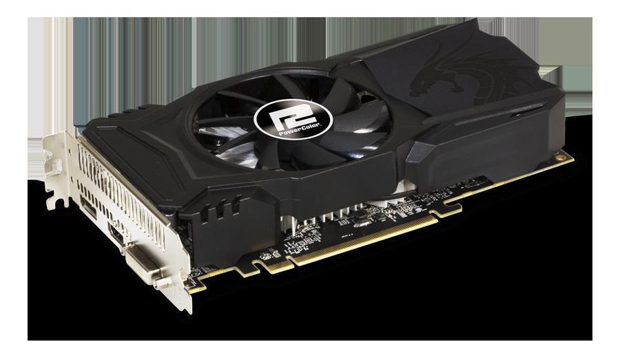 цена на Видеокарта PowerColor Red Dragon Radeon RX 560 (AXRX 560 2GBD5-DHAV2) 2GB 1176 MHz AMD RX 560/GDDR5 6000MHz/128bit/PCI-E/HDMI, DP, DVI