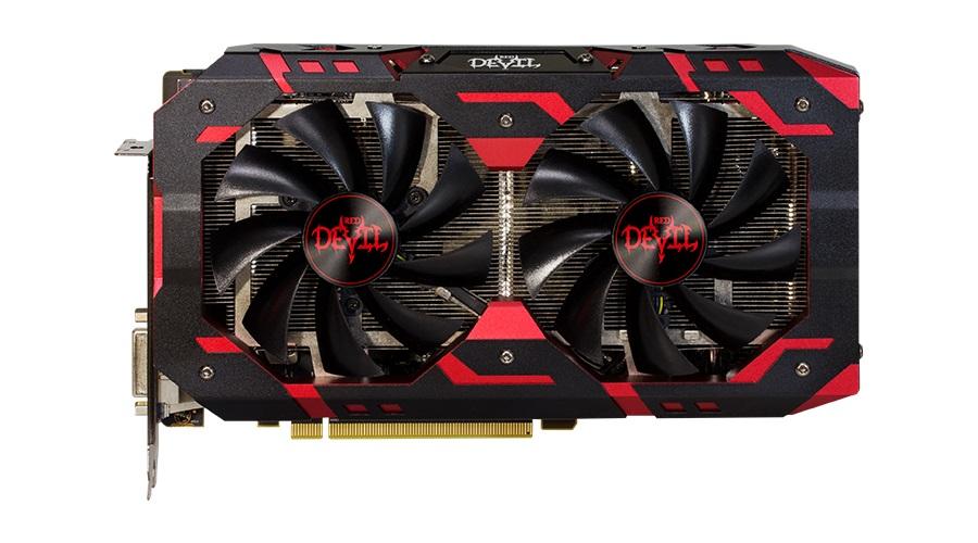 Видеокарта PowerColor Red Devil Radeon RX 590 AXRX 590 8GBD5-3DH/OC 8GB 1576MHz видеокарта powercolor 8192mb rx 570 axrx 570 8gbd5 dhdm dvi