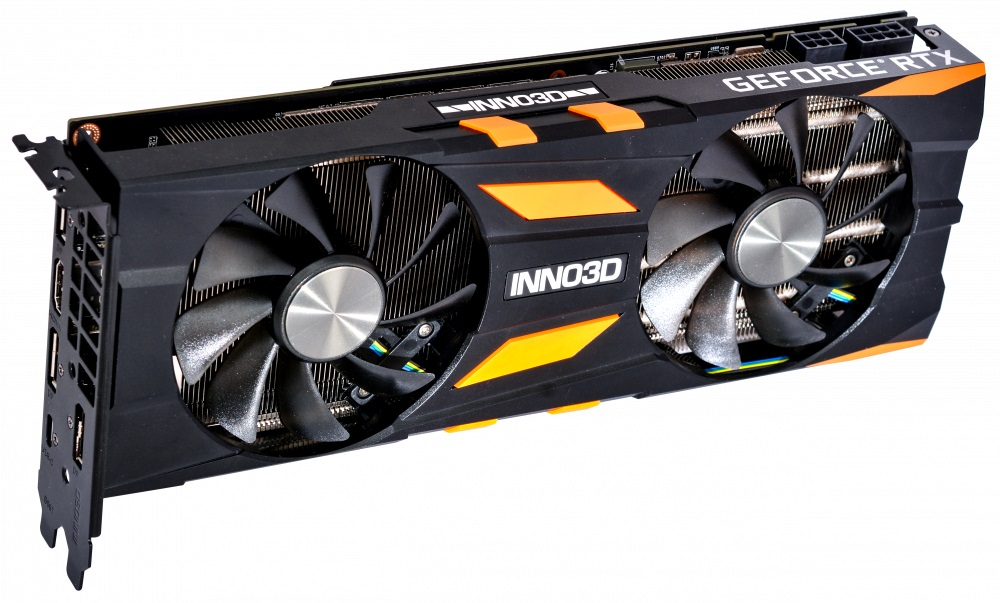 Видеокарта Inno3D GeForce RTX 2070 Gaming OC X2 N20702-08D6X-2511683 8GB 1410MHz видеокарта inno3d geforce gtx 1070 ti x2 v2 8gb n107t 2sdn p5ds