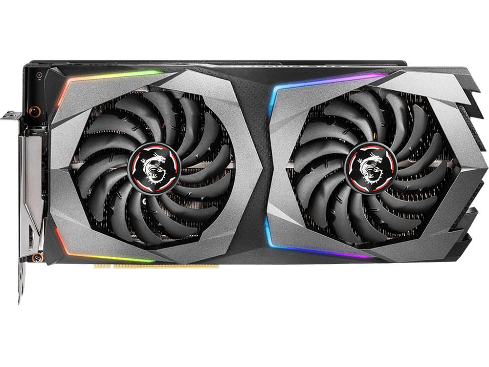 Видеокарта MSI GeForce RTX 2070 GAMING 8GG 8Gb 1625 MHz NVIDIA RTX 2070/GDDR6 14000MHz/256bit/PCI-E/USB Type-C, HDMI, DPx3 видеокарта 8gb