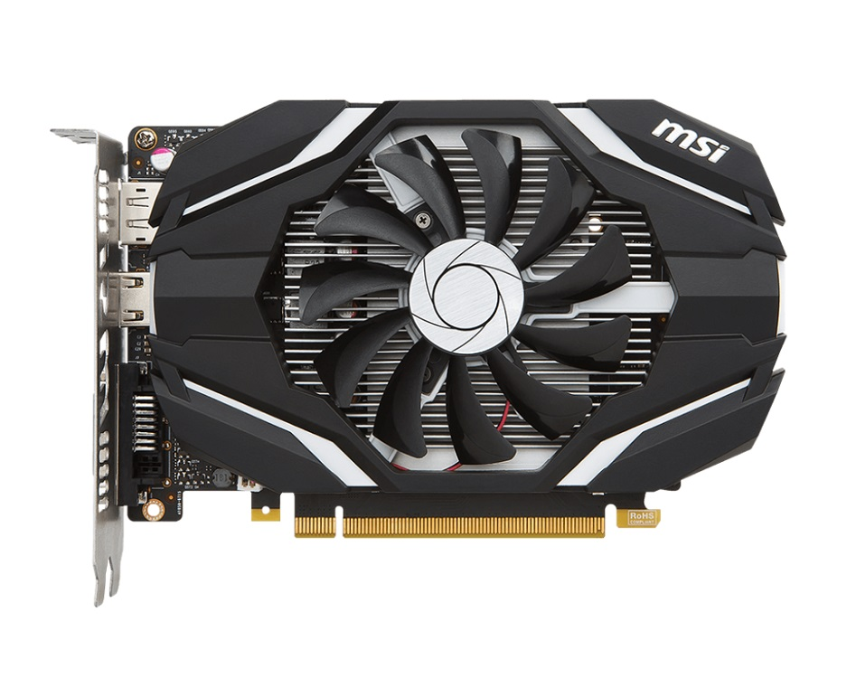 Видеокарта MSI GeForce GTX 1050 2G 2GB 1354 MHz msi original zh77a g43 motherboard ddr3 lga 1155 for i3 i5 i7 cpu 32gb usb3 0 sata3 h77 motherboard