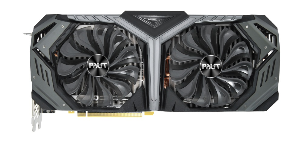 Видеокарта Palit GeForce RTX2080 PA-RTX2080 GameRock 8G 8GB 1515 MHz