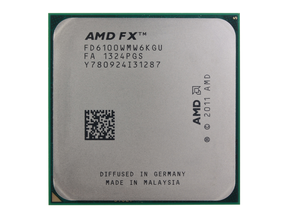 Процессор AMD FX-6100 OEM SocketAM3+ (FD6100WMW6KGU)