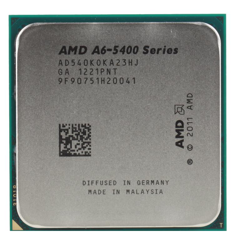 Процессор AMD A6 5400-K OEM SocketFM2 (AD540KOKA23HJ)