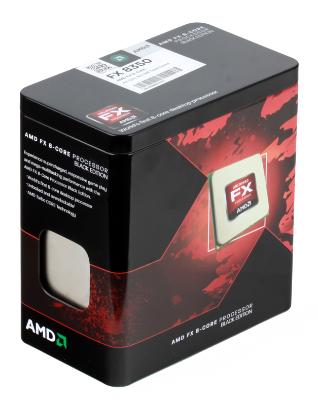 Процессор AMD FX-8350 BOX SocketAM3+ (FD8350FRHKBOX)