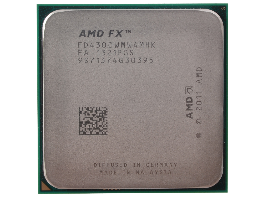 Процессор AMD FX-4300 OEM SocketAM3+ (FD4300WMW4MHK) процессор amd x4 fx 4350 socket am3