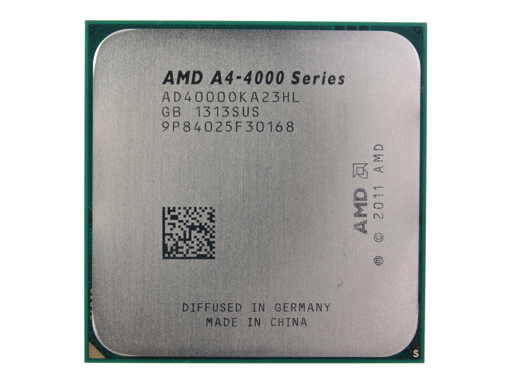 Процессор AMD A4 4000 OEM SocketFM2 (AD4000OKA23HL) процессор amd a4 4000 ad4000okhlbox socket fm2 box
