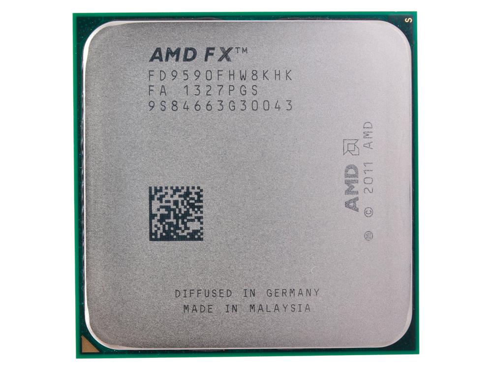 Процессор AMD FX-9590 OEM SocketAM3+ (FD9590FHW8KHK) процессор amd x4 fx 4350 socket am3