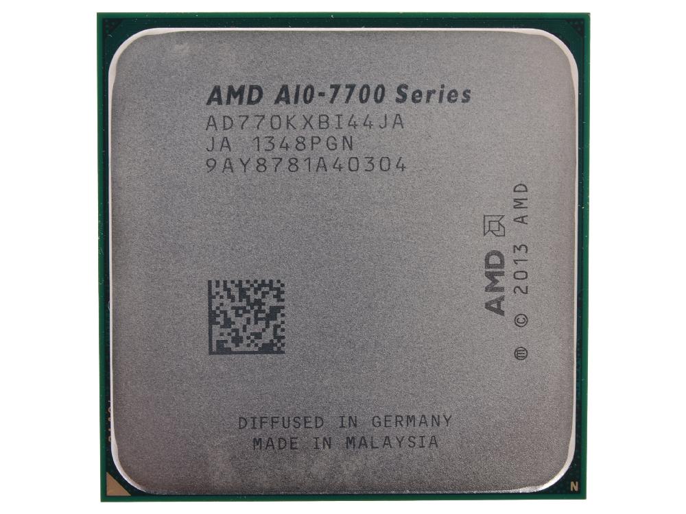 Процессор AMD A10 7700K OEM 95W, 4core, 3.8Gh(Max), 4MB(L2-4MB), Kaveri, FM2+ (AD770KXBI44JA) процессор amd a8 7600 kaveri fm2 l2 4096kb oem ad7600ybi44ja