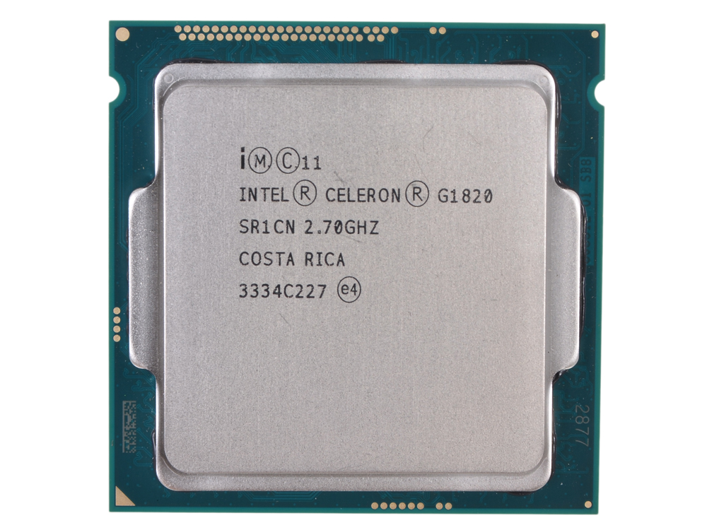 Процессор Intel Celeron G1820 OEM TPD 53W, 2/2, Base 2.70GHz, 2Mb, LGA1150(Haswell) partaker elite z13 15 inch made in china 5 wire resistive touch screen intel celeron 1037u oem all in one pc with 2 com