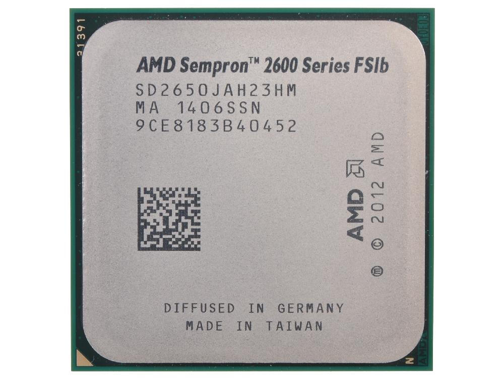 Процессор AMD Sempron 2650 OEM SocketAM1 (SD2650JAH23HM) процессор amd sempron x2 2650 box sd2650jahmbox