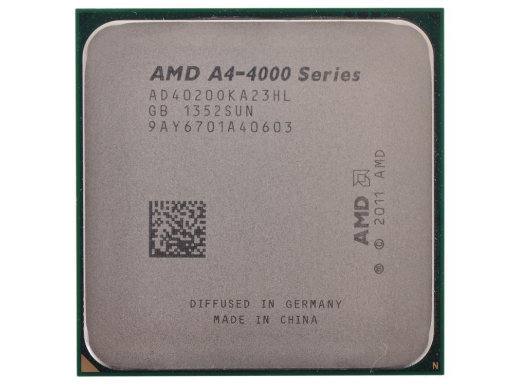 Процессор AMD A4 4020 OEM SocketFM2 (AD4020OKA23HL)