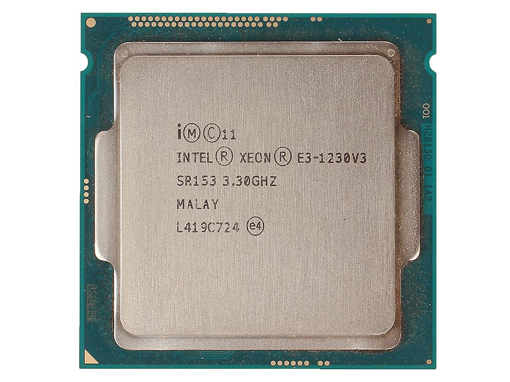 Процессор Intel Xeon E3-1230v3 OEM 3,30GHz, 8M Cache, LGA1150 процессор intel xeon e3 1241 v3