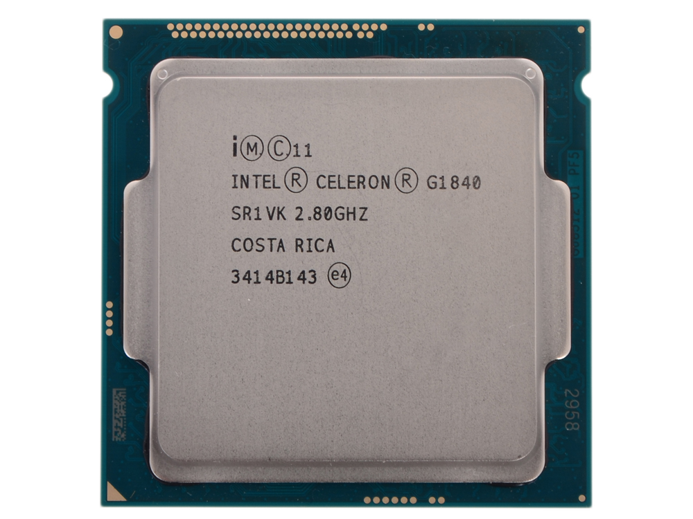 Процессор Intel Celeron G1840 OEM 2.80GHz, 2Mb, LGA1150 partaker elite z13 15 inch made in china 5 wire resistive touch screen intel celeron 1037u oem all in one pc with 2 com