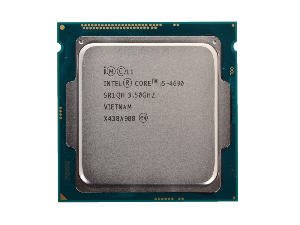 Процессор Intel Core i5-4690 OEM (TPD 84W, 4/4, Base 3.50GHz - Turbo 3.9 GHz, 6Mb, LGA1150 (Haswell)) процессор intel core i5 6600 3 3ghz 6mb socket 1151 box