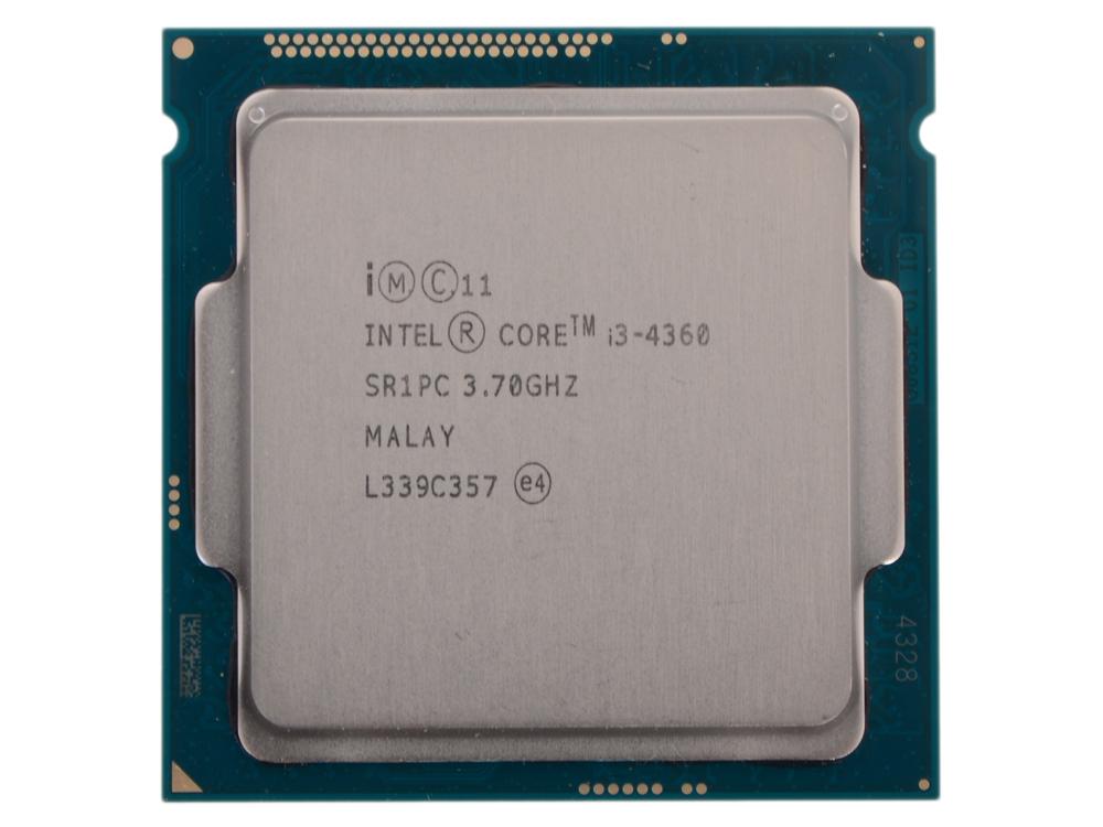 Процессор Intel® Core™ i3-4360 OEM <TPD 54W, 2/4, Base 3.7GHz, 4Mb, LGA1150 (Haswell)> процессор intel core i5 4690k box tpd 88w 4 4 base 3 50ghz turbo 3 9 ghz 6mb lga1150 haswell
