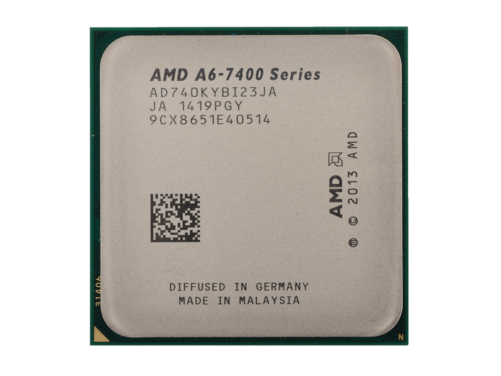 Процессор AMD A6 7400-K OEM Socket FM2+ (AD740KYBI23JA) процессор amd a4 4000 ad4000okhlbox socket fm2 box
