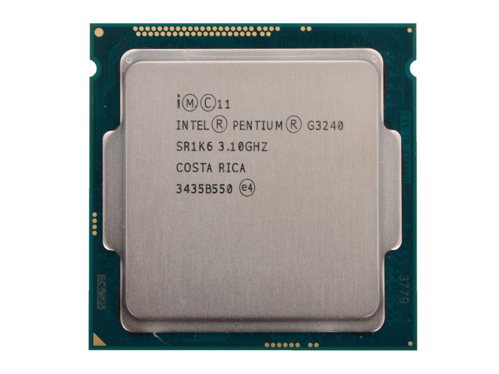 Процессор Intel® Pentium® G3240 OEM (TPD 53W, 2/2, Base 3.1GHz, 3Mb, LGA1150 (Haswell))