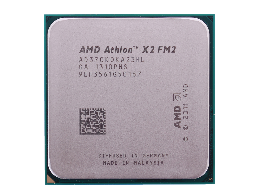 Процессор AMD Athlon X2 370 OEM Socket FM2 (AD370KOKA23HL) процессор процессора amd athlon series fm2 socket