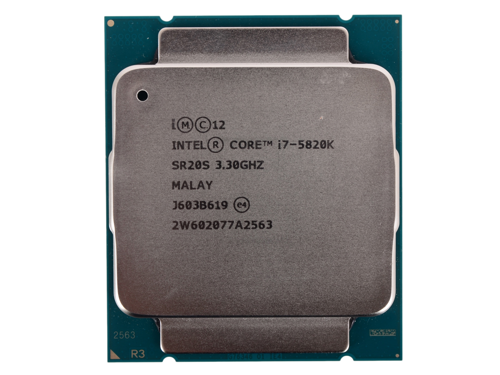 Процессор Intel Core i7-5820K OEM TPD 140W, 6/12, Base 3.30GHz - Turbo 3.6GHz, 15Mb, LGA2011-V3 (Haswell-E) цена