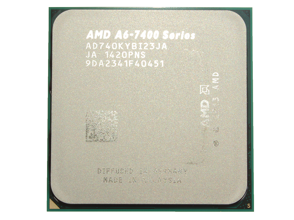 Процессор AMD A6 7400-K BOX SocketFM2+ (AD740KYBJABOX) процессор amd a8 7670 k box ad767kxbjcbox