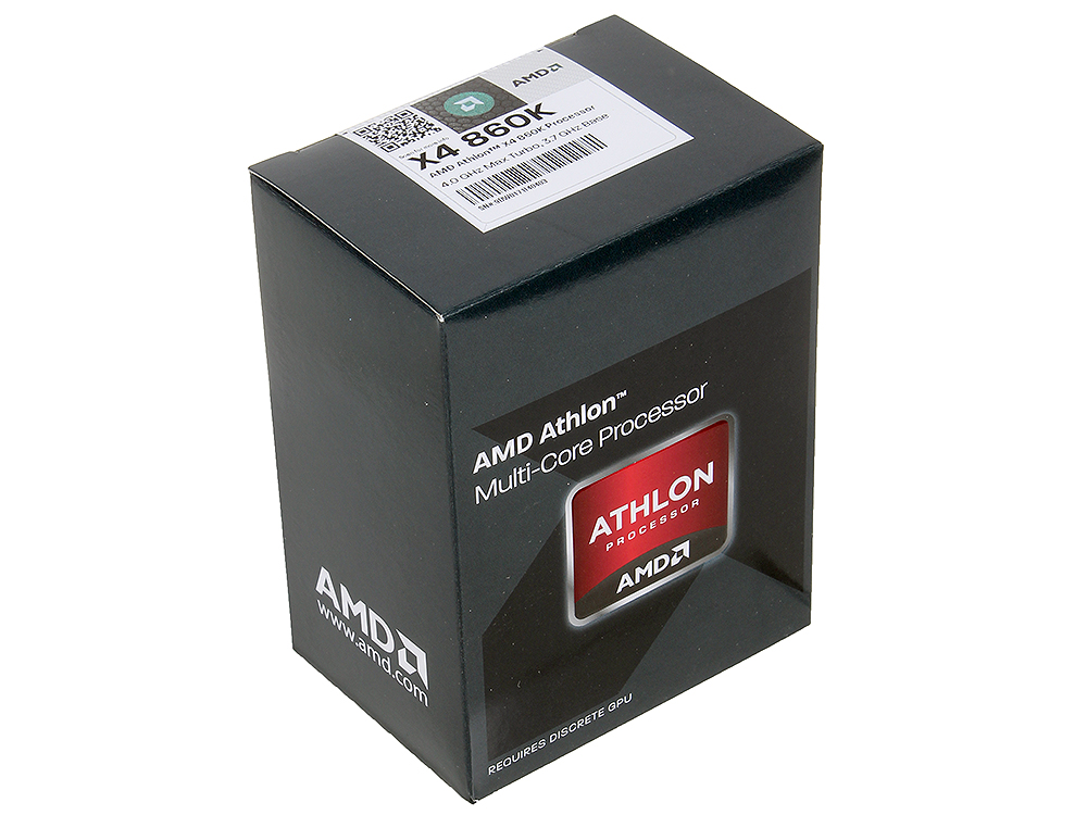 Процессор AMD Athlon X4 860-K BOX (AD860KXBJABOX)