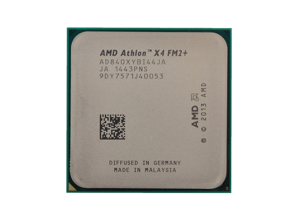 Процессор AMD Athlon X4 840 OEM Socket FM2+ (AD840XYBI44JA) процессор процессора amd athlon series fm2 socket