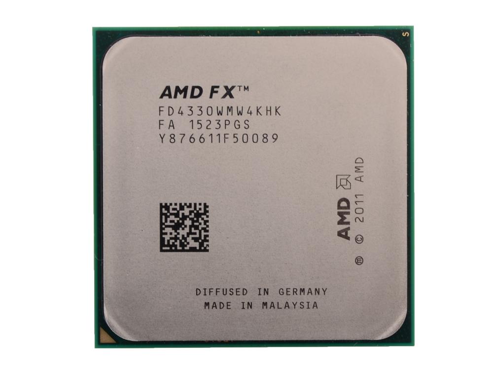 Процессор AMD FX-4330 OEM SocketAM3+ (FD4330WMW4KHK) цена