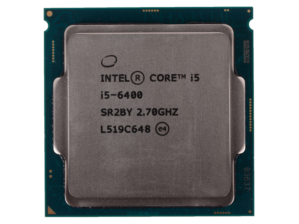 Процессор Intel Core i5-6400 OEM (TPD 65W, 4/4, Base 2.7GHz - Turbo 3.3 GHz, 6Mb, LGA1151 (Skylake)) процессор intel core i5 6400 2 7ghz 6mb socket 1151 box