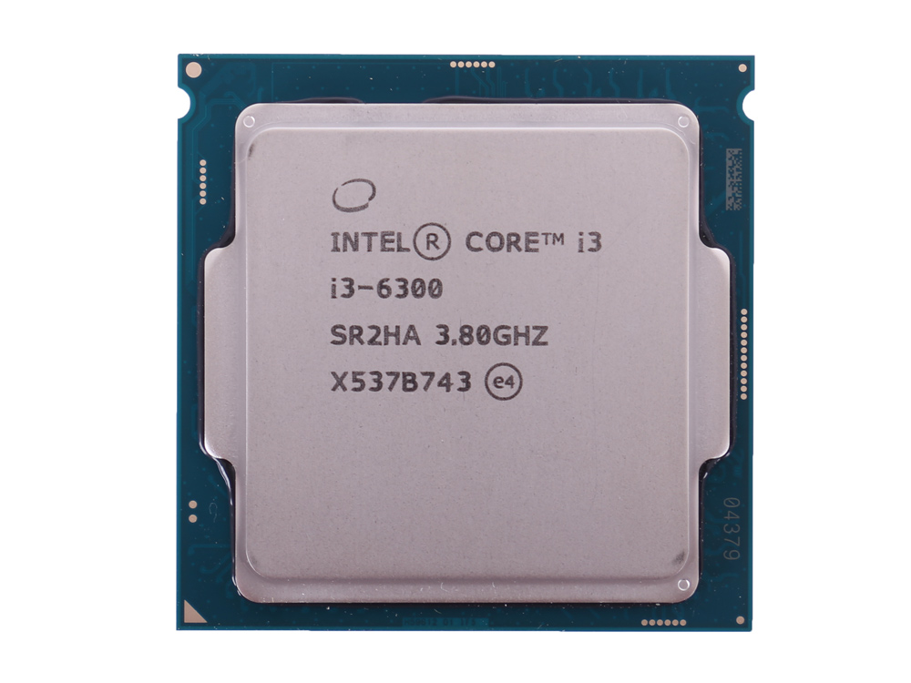 Процессор Intel Core i3-6300 OEM TPD 51W, 2/4, Base 3.8GHz, 4Mb, LGA1151 (Skylake) цена