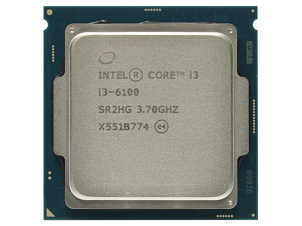 Процессор Intel Core i3-6100 BOX (TPD 51W, 2/4, Base 3.7GHz, 3Mb, LGA1151 (Skylake)) процессор intel core i3 6100 box