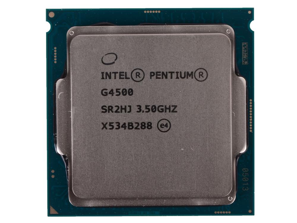 Процессор Intel Pentium G4500 OEM 3.5GHz, 3Mb, LGA1151, Skylake процессор intel cpu pentium 925 930 3 0g