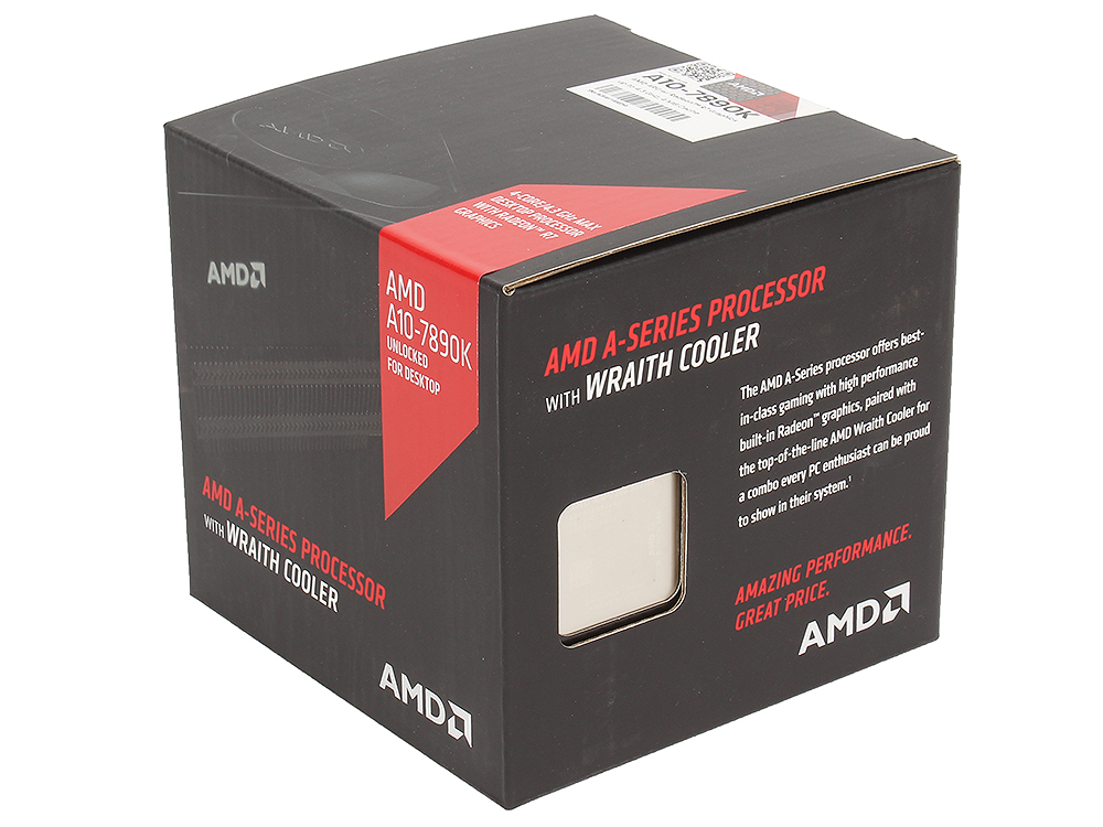 Процессор AMD A10 7890-K BOX Socket FM2+ (AD789KXDJCHBX) процессор amd a8 7670 k box ad767kxbjcbox