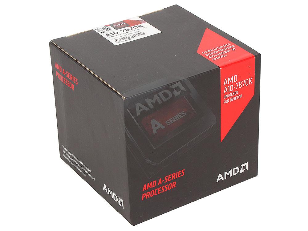 Процессор AMD A10 7870-K BX QC Socket FM2+ (AD787KXDJCSBX)