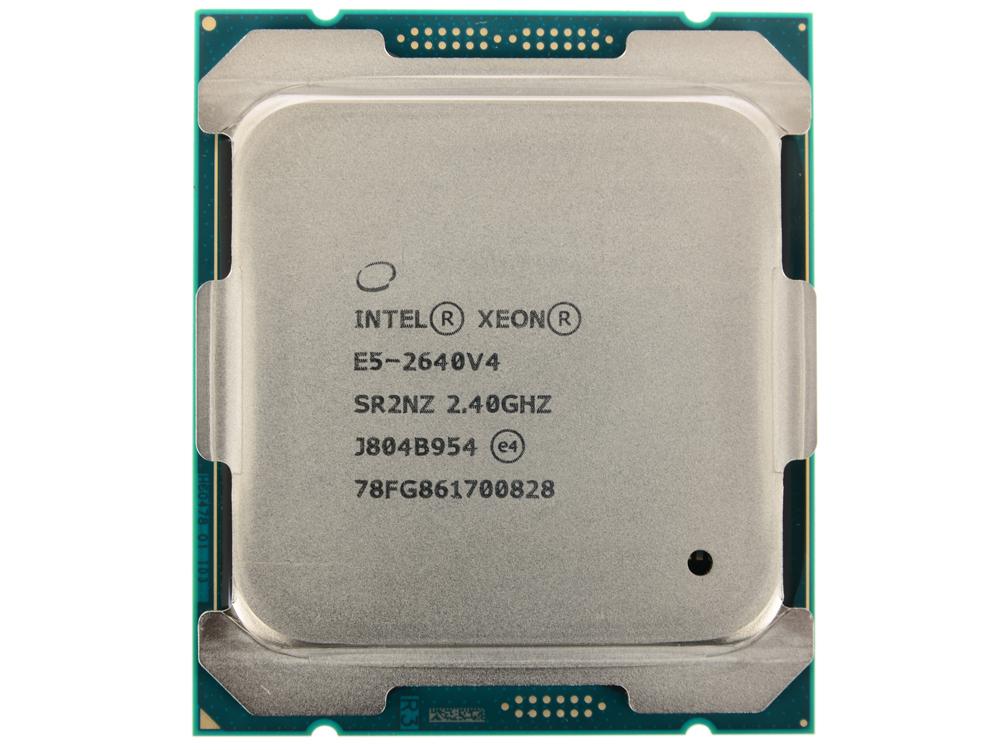 Процессор Intel Xeon E5-2640v4 OEM 2,40GHz, 25M, LGA2011-3 процессор lenovo intel xeon processor e5 2650 v4 12c 2 2ghz 30mb cache 2400mhz 105w kit for x3650m5 00yj197
