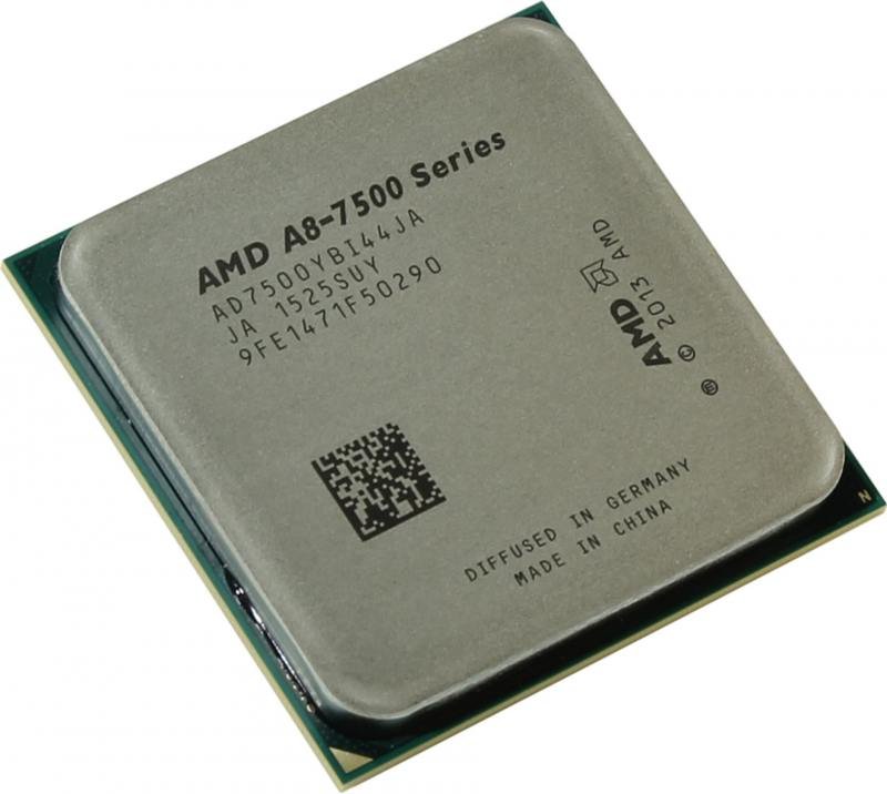 Процессор AMD A8 7500 3.0GHz 2Mb AD7500YBI44JA Socket FM2+ OEM процессор amd a4 4000 ad4000okhlbox socket fm2 box