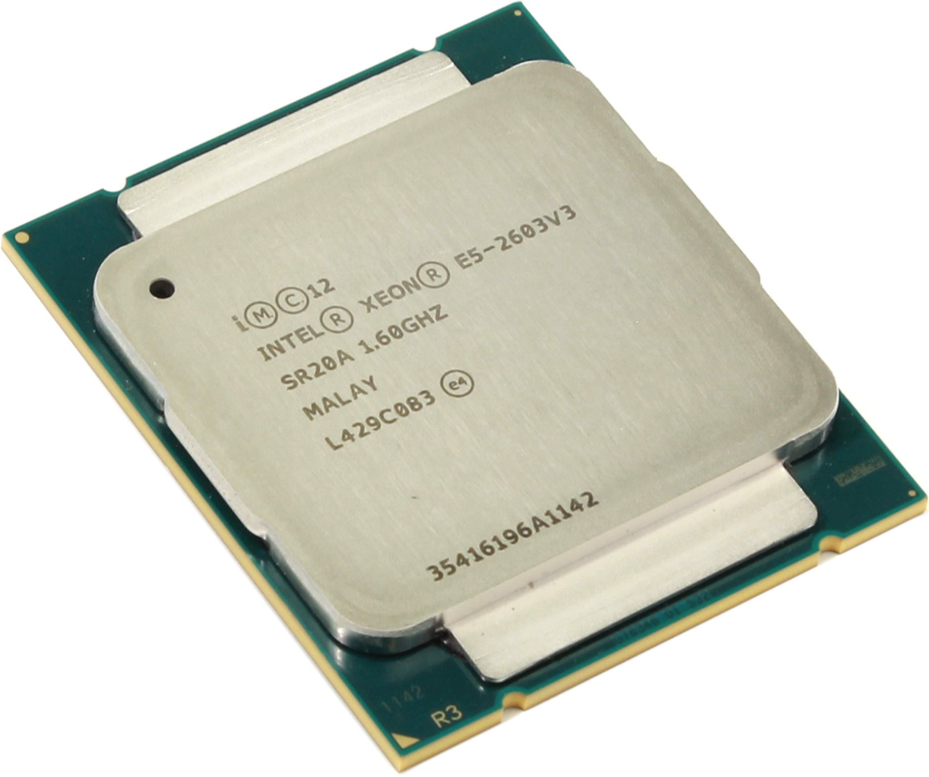Процессор Intel Xeon E5-2603v3 1.6GHz 15Mb LGA2011-3 OEM процессор dell intel xeon e5 2630 v4 broadwell ep 2200mhz lga2011 3 l3 25600kb 338 bjdg box