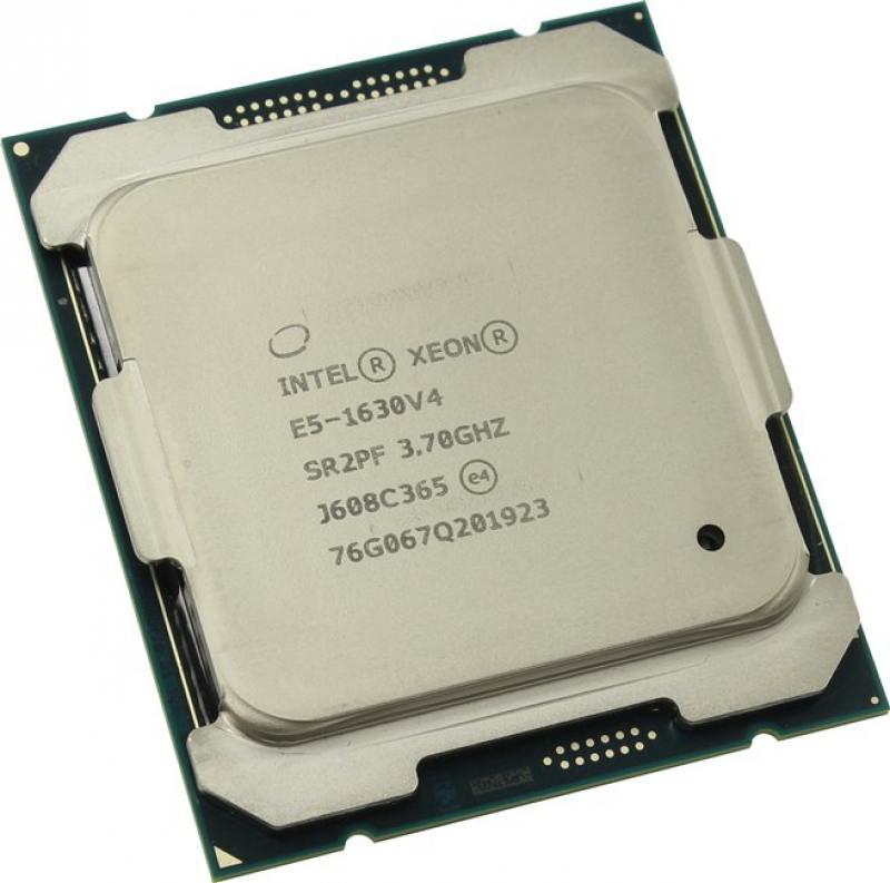 Процессор Intel Xeon E5-1630v4 3.7GHz 10Mb LGA2011-3 OEM процессор intel xeon e5 2623v4 broadwell ep 2600mhz lga2011 3 l3 10240kb oem cm8066002402400sr2pj