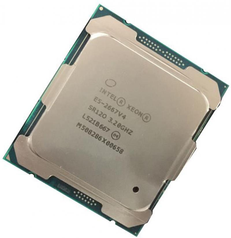 Процессор Intel Xeon E5-2667v4 3.2GHz 25Mb LGA2011-3 OEM процессор intel xeon e5 2603v2 1 8ghz 10m lga2011 oem